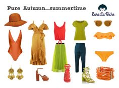 pure autumn summertime by laralabiche on Polyvore featuring moda, Temperley London, House of Fraser, Splendid, MSGM, ViX, Marni, Lisa Marie Fernandez, Gianvito Rossi and Sam Edelman