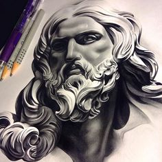 The tools you see are the #tools I used on this #bernini #jesus piece. Thanks for looking! Enjoy your weekend players!! #tattoo #spooky #tattoospooky #pencil #realism #sculpture #graphite #worldofartists #worldofpencils #art #artsanity #artcollective #art_spotlight #spotlightonartists #skinartmag #sketch_daily #artistmafia #drawing #drawingoftheday #work