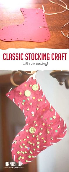 This has got to be one of the most classic Christmas crafts we've made! via @handsonaswegrow