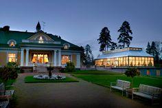 The Manor of Hirvihaara, Mäntsälä, Finland Art Deco Wedding Theme, Helsinki, Finland, Scenery, Villa, Mansions, Architecture, House Styles, Places