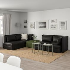 Bedroom sofa with Storage New Ikea Vallentuna Modular Corner sofa 4 Seat with Storage Modular Corner Sofa, Modular Sofa, Ikea Vallentuna, Ikea Bank, Ikea Canada, Plywood Storage, Vert Olive, Olive Green, Sectional Sofas