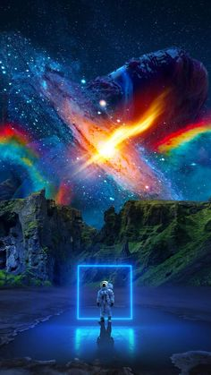 Cosmic World iPhone Wallpaper - iPhone Wallpapers