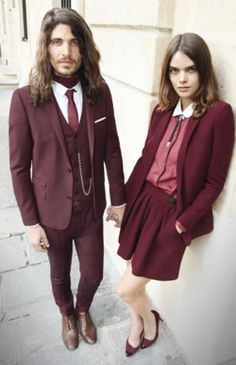 """Derryfield School in Manchester, NH has a board called """"Maroon and White,"""" where they post images of all things that are their school colors. We love the humor in their comment...""""School uniforms?"""" What a great way to show their school's personality!"""