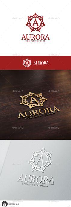 Aurora Logo Template #design #logotype Download: http://graphicriver.net/item/aurora-logo/10536020?ref=ksioks
