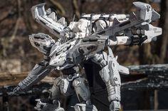 Armored Core - White Glint Build by Vonschlippe