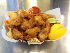Camarones Empanizados (Breaded Shrimp Basket) –  Don Camaron, Taste of Miami, Sections 28-30