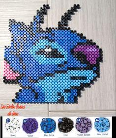 Disney Stitch hama perler beads by Jessica Bartelet - Les perles Hama de Jess