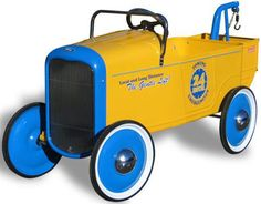Roadster Tow Truck Pedal Car
