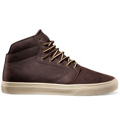 Vans OTW Alcon Brown Leather Work Boot