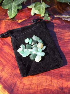 Crystal Energy Medicine Bag Emotional Healing/Spiritual Harmony Reiki Charged Stone
