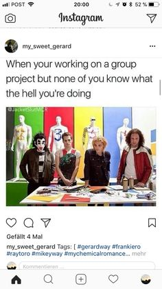 I saved this before, but I'm realising that I think this may be from when they're designing the Killjoy costumes. I could be wrong, but that what it looks like