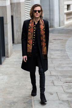 Dougie Poynter, London Fashion Week AW17