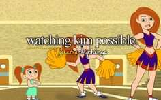 Kim Possible! I used to love watching this show all the time! I even remember playing the game on the Disney Channel website soon after my family got internet. Kim Possible And Ron, Kim And Ron, Childhood Tv Shows, My Childhood Memories, Disney And More, Disney Love, Disney Xd, Lps, Old Disney Channel