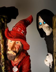 Rincewind and Death figures