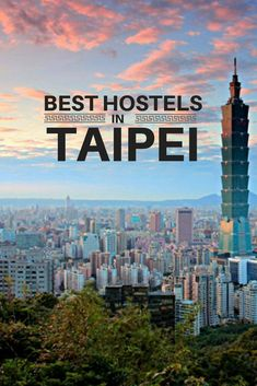 Searching for place to stay in Taiwan capital? These are the best hostels in Taipei, recommended by a traveller who spent three months trying them out. 10 hostels in Taipai, Taiwan, tested and approved Taiwan Travel, Vietnam Travel, Asia Travel, Travel Trip, Budget Travel, Backpacking Asia, Amazing Destinations, Travel Destinations, Beautiful Places To Visit