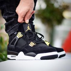Nike Air Jordan 4 'Royalty' - 2017 (by A quality pair of shoe trees by Sole Trees are a perfect fit for your sneakers Nike Air Jordans, Air Jordan Sneakers, Nike Air Shoes, Sneaker Outfits, Sneakers Fashion Outfits, Nike Air Jordan Retro, Jordan Nike, Jordan Tenis, Sneakers Mode