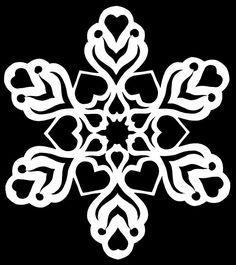 Snowflake Designs, Snowflake Pattern, Vinyl Crafts, Paper Crafts, Diy Snowflakes, Snow Flakes Diy, Origami Paper Art, Paper Sculptures, Lamborghini Cars
