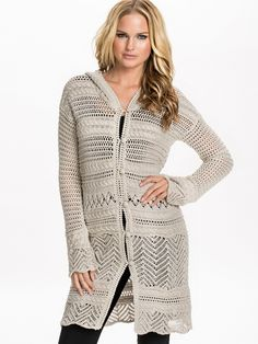 Horizon Cardigan - Odd Molly - Porcelain - Jumpers & Cardigans - Clothing - Women - Nelly.com Uk