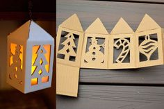 Fanalets de reis - totnens Kids Rooms, Buffet, Christmas Crafts, Craft Ideas, Storage, Creative, Furniture, Home Decor, Card Stock