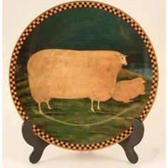 Lenox Woolgathering Sheep by Warren Kimble. I have the Sheep just not on Lenox :)