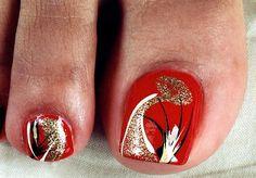 Diseños para las uñas de los pies- FOTOS - Paperblog