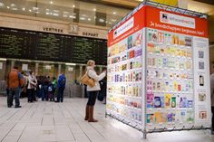 Delhaize launches virtual shopping in Belgium using smartphone and #qrcode