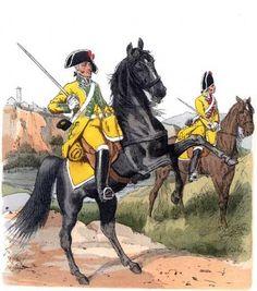 Spanish Cavalry Dragones de Villaviciosa 1806