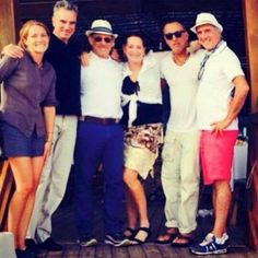 Daniel Day-Lewis, Steven Spielberg, Patti Scialfa and Bruce Springsteen in Naples - Italy