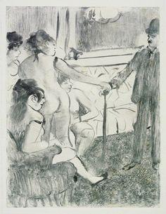 Edgar Degas, 'The Serious Client', monograph