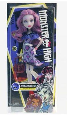 Monster High basic Ari Hauntington doll 2016. Credit to: Monster High Dolls on Facebook