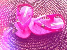 #Ipanema #baby #flipflops pink! ♥