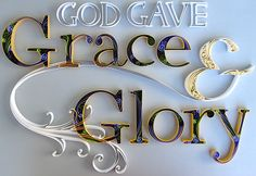 Grace & Glory was a commissioned paper quilling done for a client whose two daughter's names are Grace and Glory.