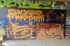 Canal Saint Martin October 2014 #streetart #grafitti #tag