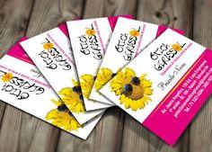 Cartão de Visita Otica Girassol