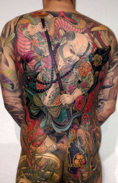 One of the most ancient tattoo traditions has roots in the Far East. Also known as irezumi, the art of ink on skin in the Land of the Rising Sun……Read Full Sleeve Tattoo Design, Full Body Tattoo, Life Tattoos, Body Art Tattoos, Sleeve Tattoos, Tebori Tattoo, Irezumi Tattoos, Japanese Dragon Tattoos, Japanese Tattoo Art