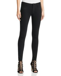 PAIGE Verdugo Ankle Ponte Pants in Black