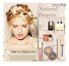 """""""Spring Beauty"""" by thewondersoffashion ❤ liked on Polyvore featuring beauty, Bodas, Clarins, BeautyTrend, clarins and springbeauty"""