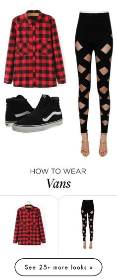 """Untitled #1251"" by vireheart on Polyvore featuring WithChic, Balmain and Vans"