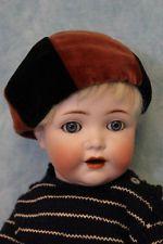 """Antique 14.5"""" Simon & Halbig K * R 122 P German Bisque Toddler Boy Doll German Boys, Boy Doll, Antique Dolls, Toddler Boys, Antiques, Face, Twins, Antiquities, Little Boys"""