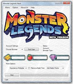 monster legends cheat