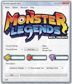 monster legends cheat