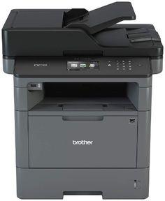Brother Laser Multifunction Printer - Monochrome - Duplex - Copier/Fax/Printer/Scanner - 42 ppm Mono Print - 1200 x 1200 dpi Print - LCD Touchscreen - Ethernet - Wireless LAN - USB Wi Fi, Printer Scanner, Laser Printer, Apple Mac, Windows 10, Pen Drive Usb, Fast Print, Multifunction Printer, Brother Mfc