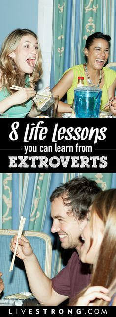 8 things introverts can learn from extroverts.