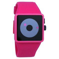 Men's Newton Silicone Watch In Black