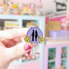 Trust No One X-Files enamel lapel pin Dana Scully, Trust No One, Lapel Pins, Gravity Falls, Enamel, Artwork, Gold, Black, Work Of Art