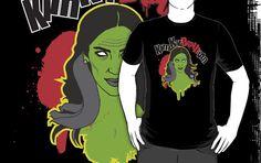 kim kardashian zombie http://www.redbubble.com/people/curtisblack72/works/8264659-kim-kar-death-ian
