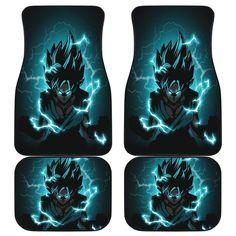 Goku Blue Front And Back Car Mats (Set Of 4) Car Mats, Car Floor Mats, Dragon Z, Dragon Ball, Quilt Bedding, Gift Certificates, Goku, Holiday Gifts, Great Gifts