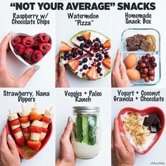 Wonderfully Easy Tips on How to Make Healthy Meals Ideas. Unimaginable Easy Tips on How to Make Healthy Meals Ideas. Healthy Food Swaps, Healthy Drinks, Healthy Snacks, Healthy Recipes, Healthy Breakfasts, Easy Meal Prep, Easy Meals, Paleo Yogurt, Chocolate Chip Pizza