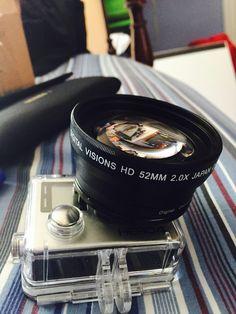 Gopro hero4 black with telescopic lens