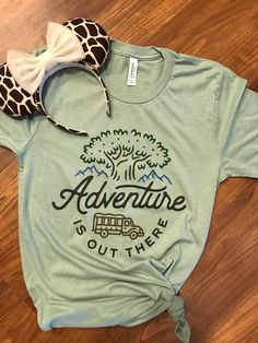Animal Kingdom inspired T-shirt / Disney inspired shirt-Dusty Blue - Animal Kingdom Disney World Shirts, Walt Disney World, Disney T-shirts, Disney Style, Disney Trips, Disney Family, Disney Parks, Disney Gift, Funny Disney